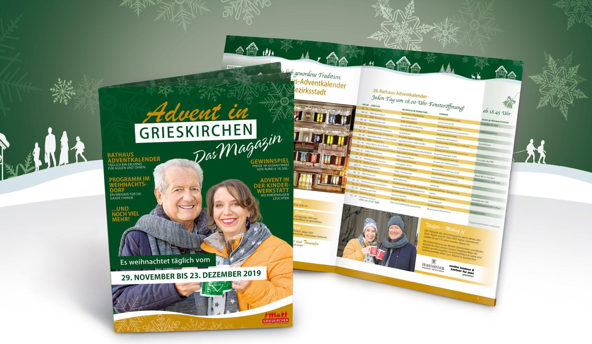 Advent in Grieskirchen 2019 Magazin