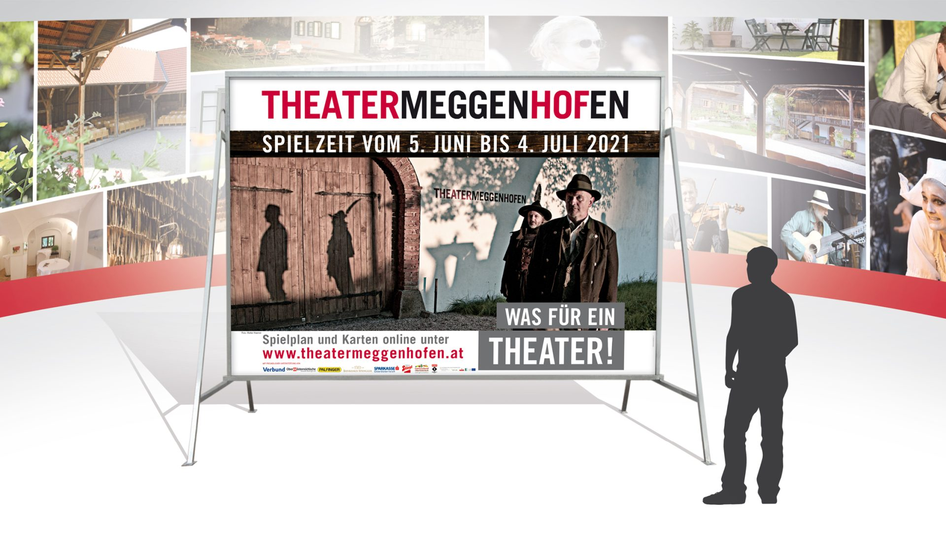 Theater Meggenhofen 16 Bogen Plakat 2021