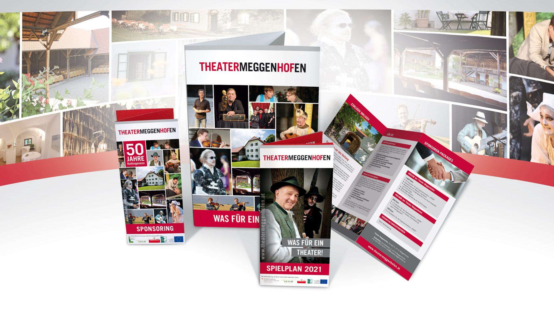 Theater Meggenhofen Werbemittel 2021